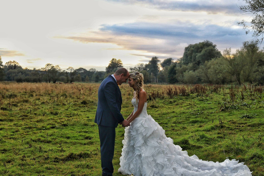 Was a nice day for Hannah & Stu's wedding...once the rain had stopped!
