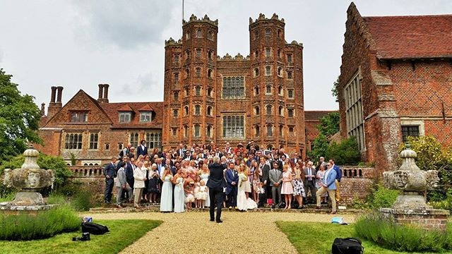 Layer Marney Tower, Essex, wedding