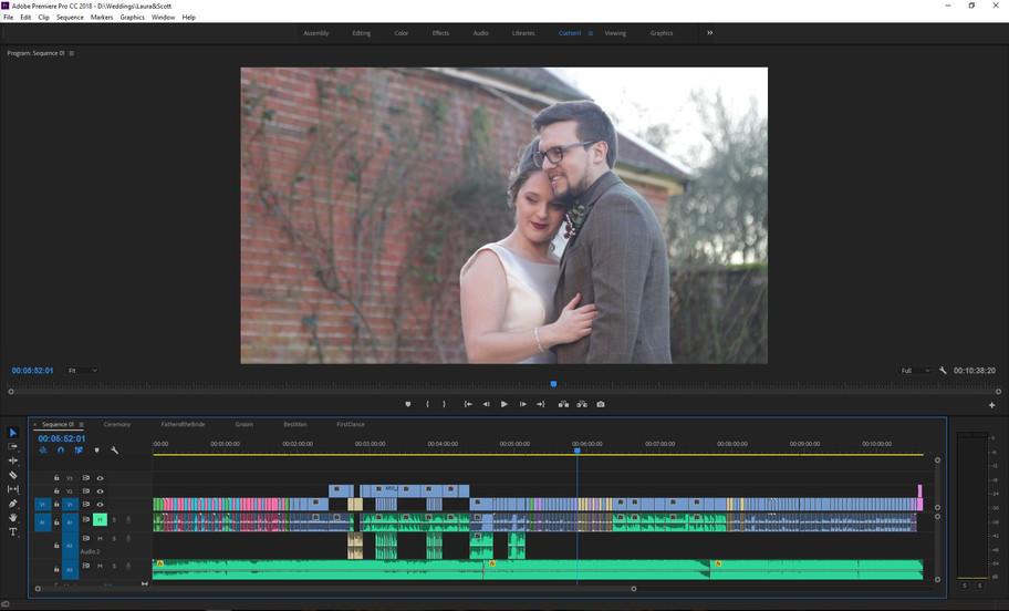 Editing Laura & Scott's Snapshot