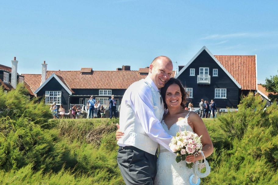 Stunning day by the beach yesterday for Kimberly & Scott's beautiful wedding
