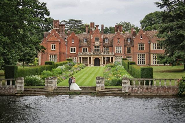 Magnificent surroundings at Longstowe Hall for Stefanie & Ashley's wedding.