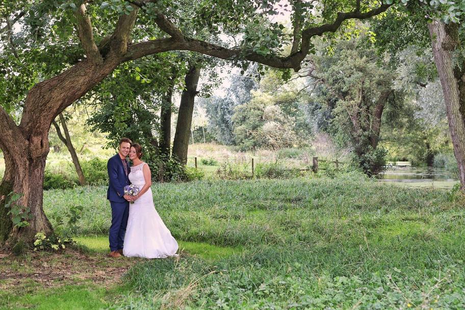 At Easton Grange Wedding Venue today for Kim & Dan's wedding.