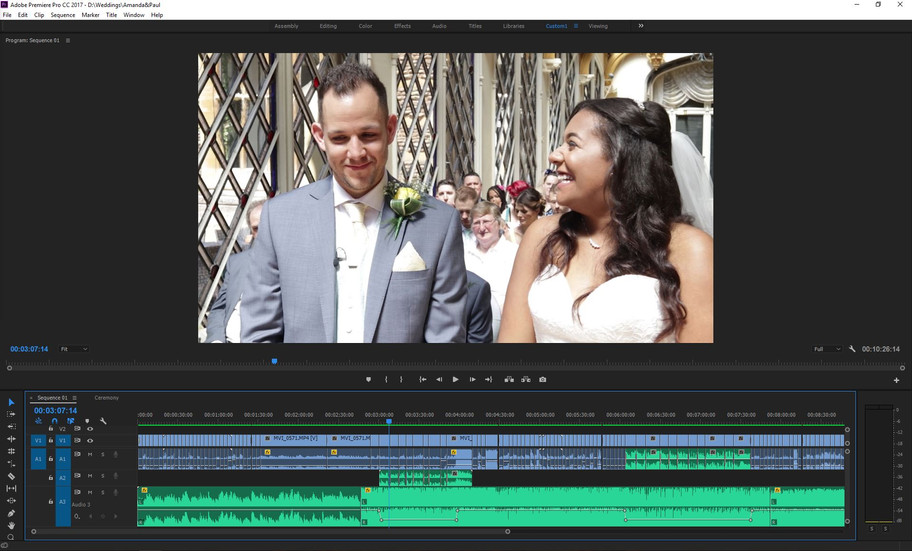 Amanda & Paul's snapshot is almost ready to watch...