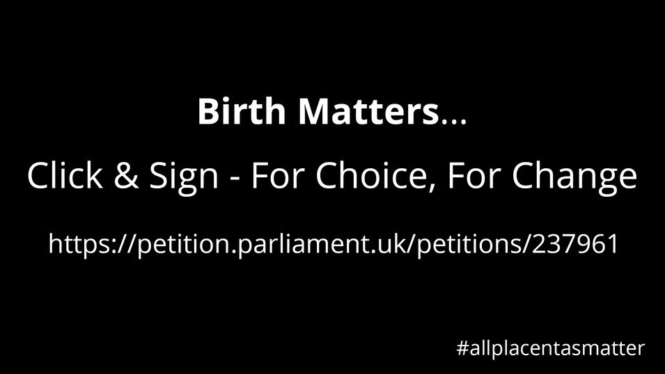 Cherished Placentas - Petition Video