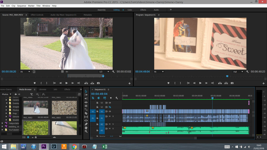 Editing - Simone & Danny [Update]