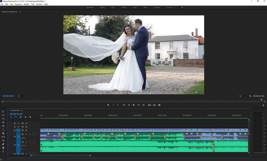 Kelly & Marc's snapshot is almost complete, just colour correction and a few finishing touch