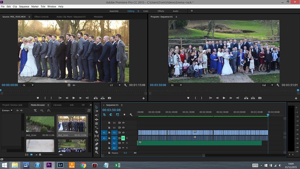 Adobe Premiere Pro Editing