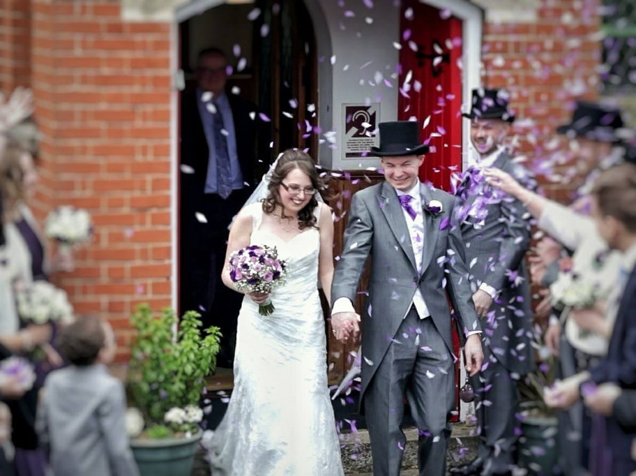 In Cambridgeshire today for the beautiful wedding of Louise & Jonathan.