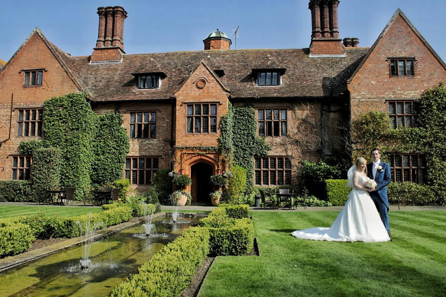 A very sunny day at Woodhall Manor for Katherine & James' wedding.