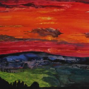 Stonking Sunset