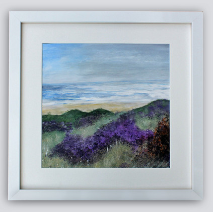 Wild Heather Framed