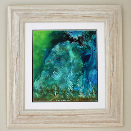 Sea Cave Framed