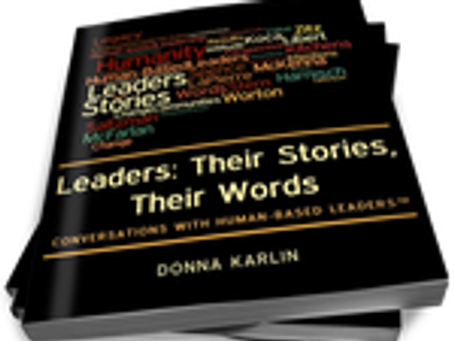 "Interview with the author of ""Leaders: Their Stories, Their Words"""