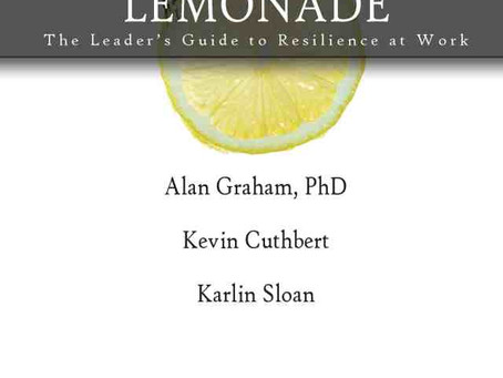 Lemonade and the Resilience at Work Questionnaire – NOW AVAILABLE!