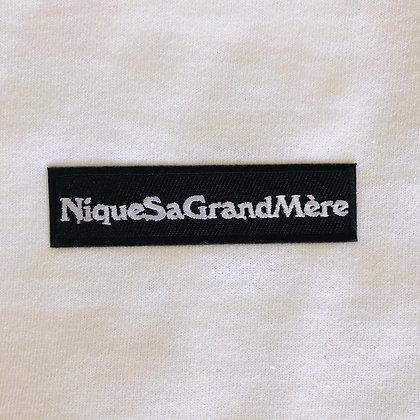 T Shirt Blanc - NiqueSaGrandMère