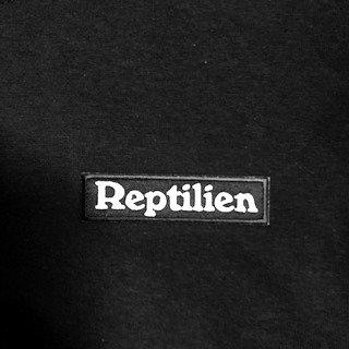 T Shirt Noir - Reptilien