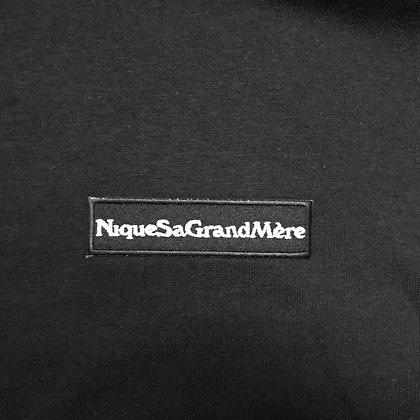 T Shirt Noir - NiqueSaGrandMère