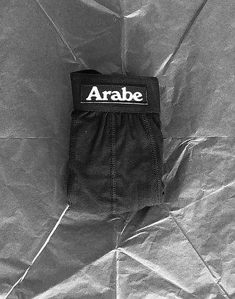 Caleçon Noir en Coton Bio - Arabe
