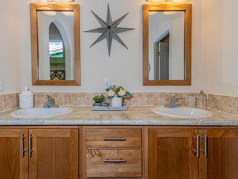 Master Bath - Double Sinks