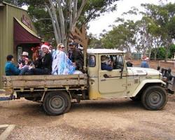 Santa Sleigh - JAKEM Farm