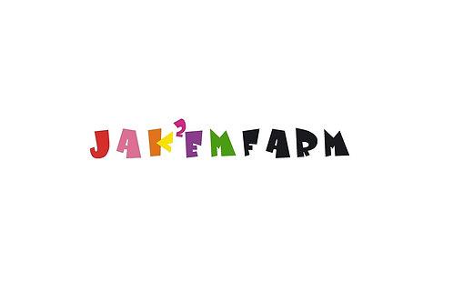 JAKEM Farm Large Sticker