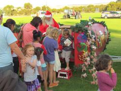 Santa and the wish lists