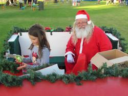 Santa and the kids 2