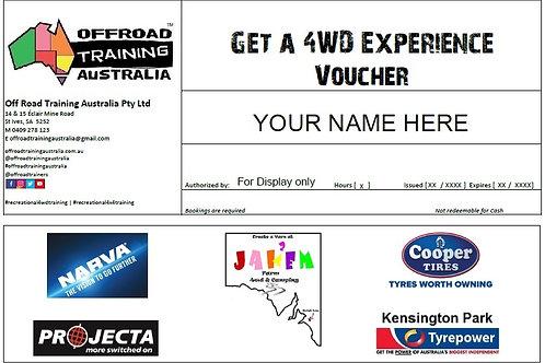 Get a 4WD Experience Voucher