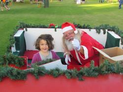 Santa and the kids 3