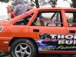 Missy in Thornebuilt Race Fabrications