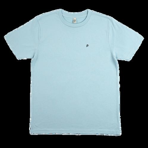 Classic T-Shirt Aqua Blue