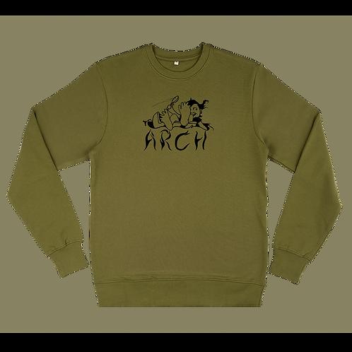 Spoonin' Sweatshirt Moss Green
