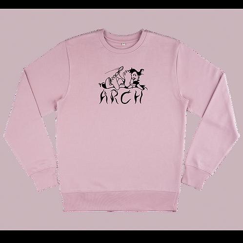 Spoonin' Sweatshirt Pink