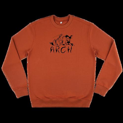 Spoonin' Sweatshirt Orange