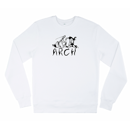 Spoonin' Sweatshirt White