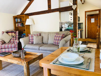 The Hayloft Cottage, The Old Mill Holiday Cottages, Living Room - Old Mill Holiday Cottages CH7 5RH