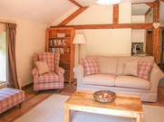 The Hayloft, Living Room, The Old Mill Holiday Cottages, North Wales