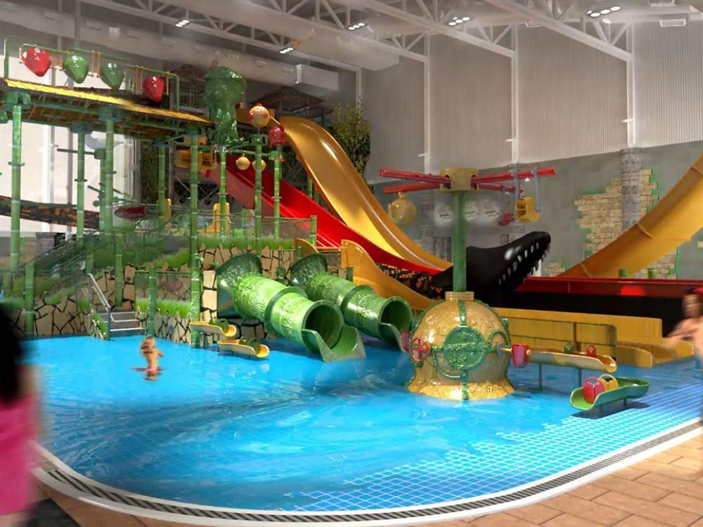 Water Park in North Wales