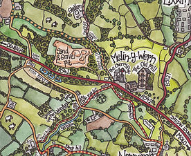 The Old Mill Holiday Cottages - We have x4 lovely dog friendly pubs in walking distance! and have created anillustrated walking map for guests.