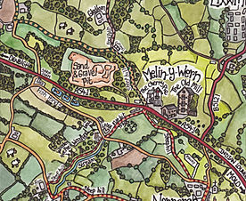 The Old Mill Holiday Cottages - We have x4 lovely foodie pubs in walking distance! and have created an illustrated walking map for guests.