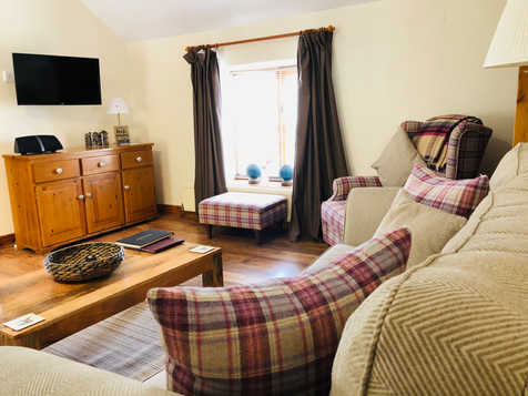 The Hayloft, ideal for couples.  The Old Mill Holiday Cottages