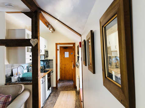 The Hayloft, Kitchen, The Old Mill Holiday Cottages