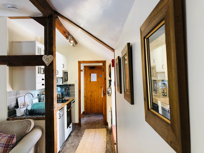 The Hayloft, Kitchen, Holifay Cottage North Wales
