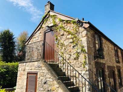 The Old Mill Holiday Cottages, The hayloft entrance