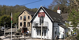 The Old Mill Holiday Cottages - The Cherry Pie Inn &Restaurant is a firm favourite with our guests providing a great menu and conveniently located next door to the Old Mill Holiday Cottages in Melin-y-Wern.