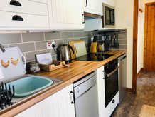 The Hayloft, Kitchen, The Old Mill Holiday Cottages, North Wales