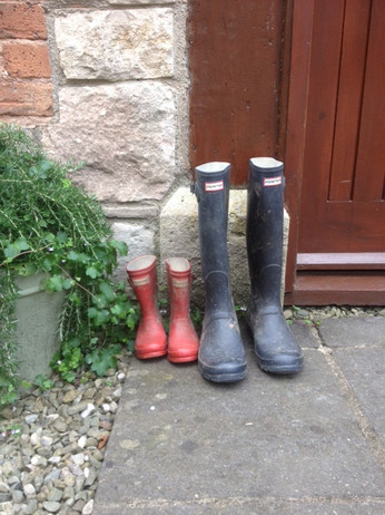 Wellies - The Old Mill Holiday Cottages - Family Friendly Holiday Cottages - North Wales