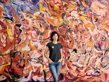 UB Arts Collaboratory: Mural with Cecily Brown