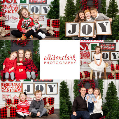 2018 Christmas Minisessions Georgetown O