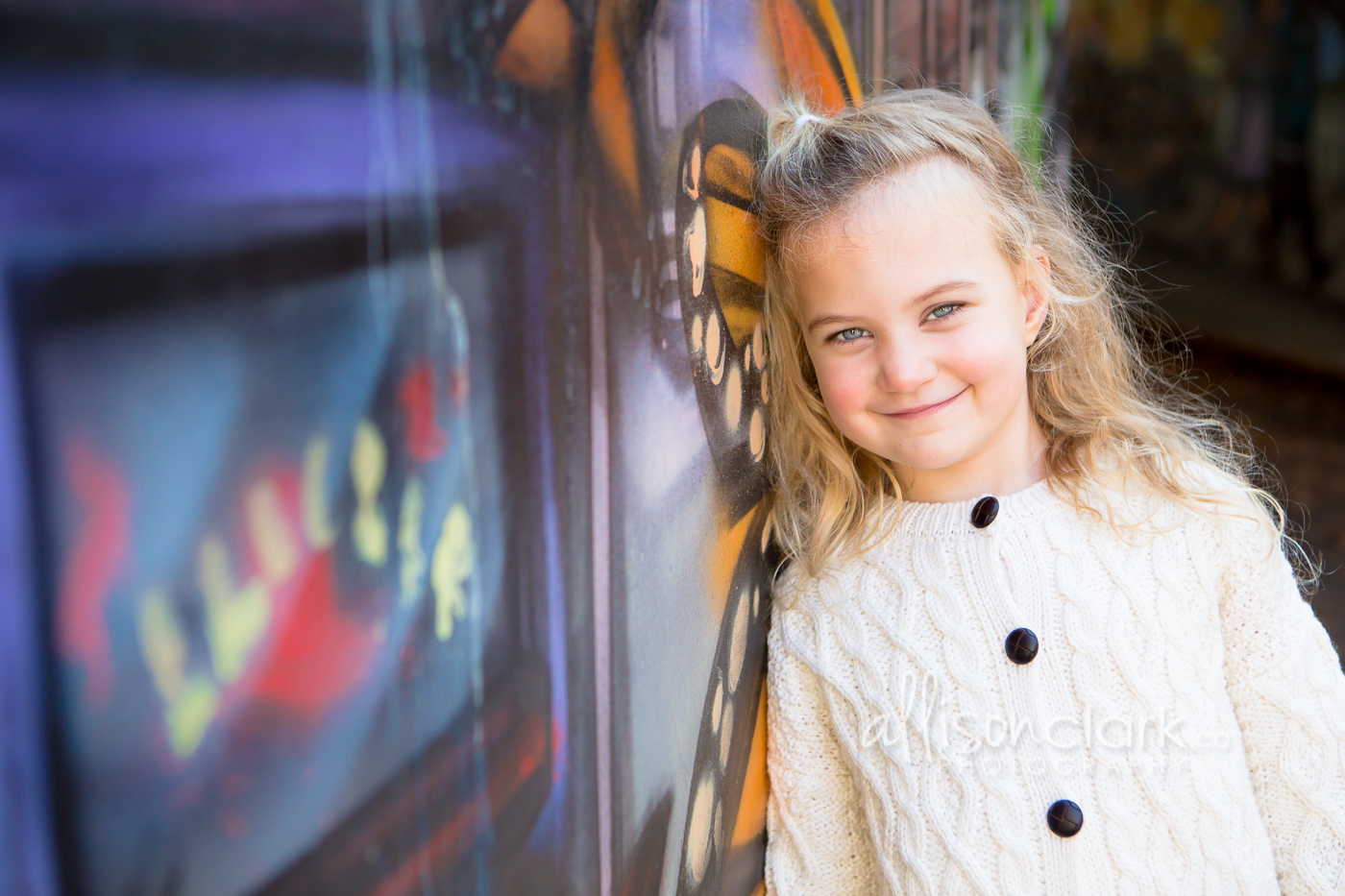 grafitti girl family portrait -AllisonCl